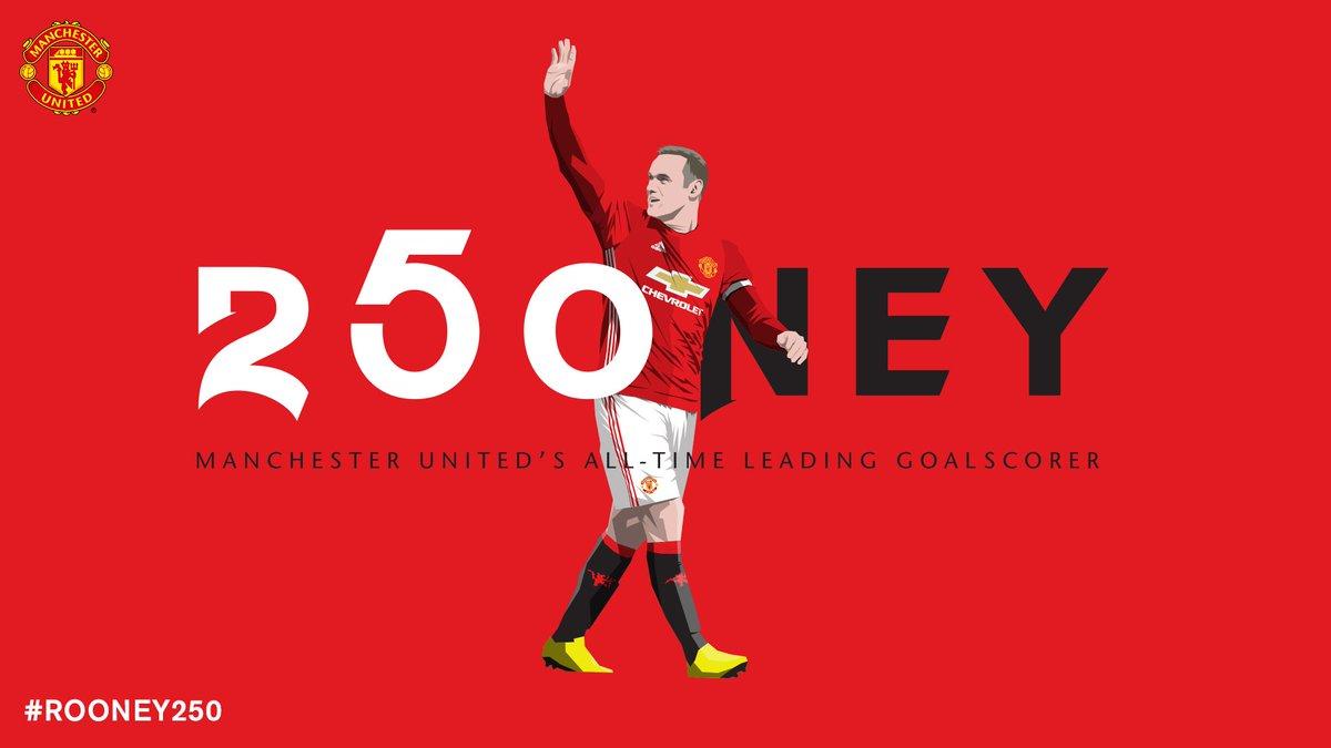 Wayne Rooney - 250 1