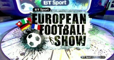 European Football Show EFS – BT Sports