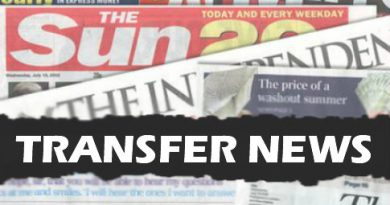 Latest Transfer News – 16th November 2018