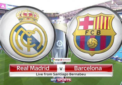 La Liga: Real Madrid v Barcelona – Full Match Replay