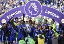 EPL: Chelsea's trophy celebrations