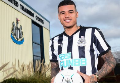 Newcastle sign Chelsea's Kenedy on loan for the rest of the season