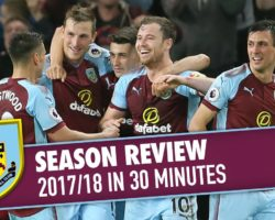 Burnley – The Season 2017/18 Review