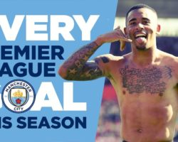 EVERY PREMIER LEAGUE GOAL | Man City | 2017/18 Season