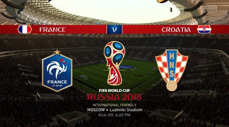 France vs Croatia – Full Match | World Cup 2018 Final | BBC