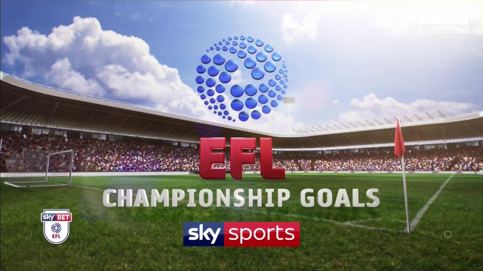 EFL Championship Goals