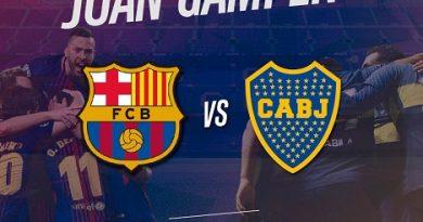Barcelona vs Boca Juniors – Full Match | Trofeo Joan Gamper