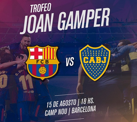 Barcelona vs Boca Juniors – Full Match | Trofeo Joan Gamper