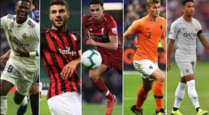 Golden Boy 2018,The final five , Alexander-Arnold, De Ligt, Kluivert, Vinicius, Cutrone
