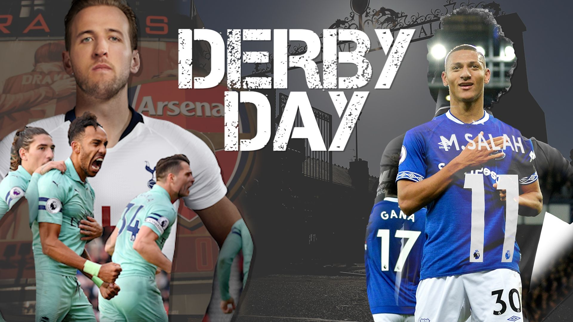 North London vs Merseyside Derby