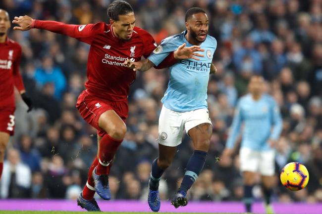 Van Dijk and Sterling honoured at PFA awards