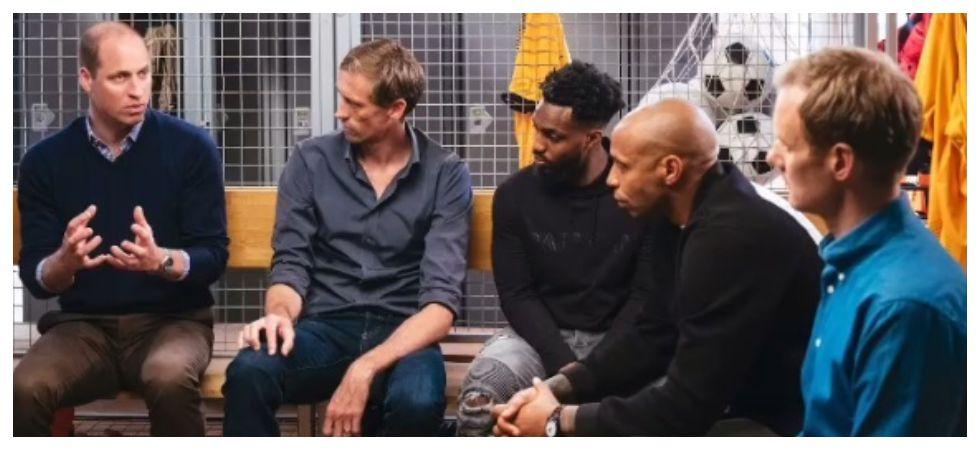 A Royal Team Talk Tackling Mental Heath