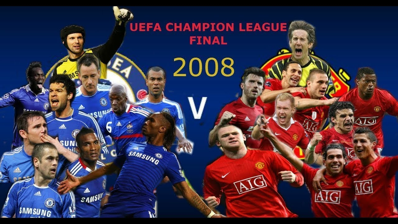 Manchester United v Chelsea highlights - 2008 UEFA Champions League final 1