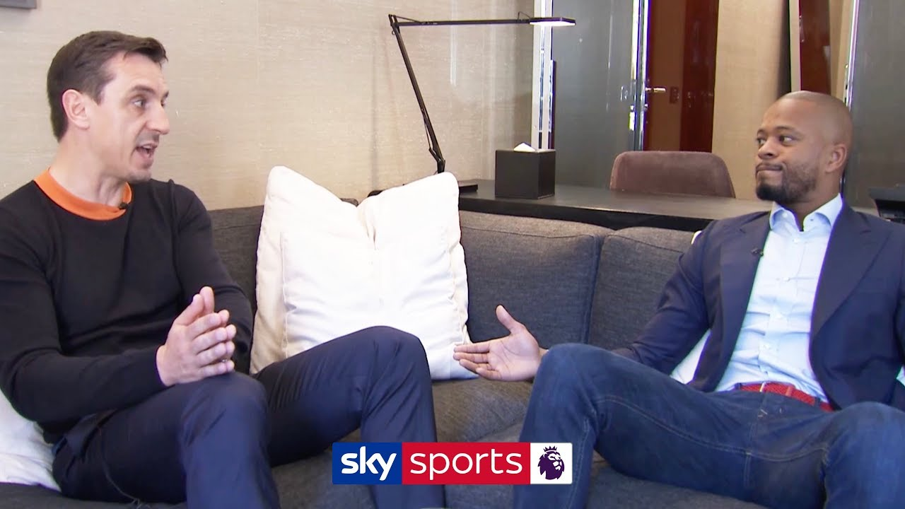 Patrice Evra & Gary Neville openly discuss the state of Manchester United & the future of Paul Pogba