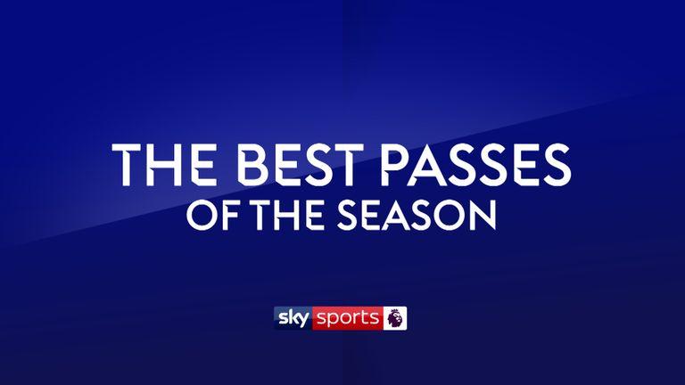 Premier League Passes of the Season 2018-2019