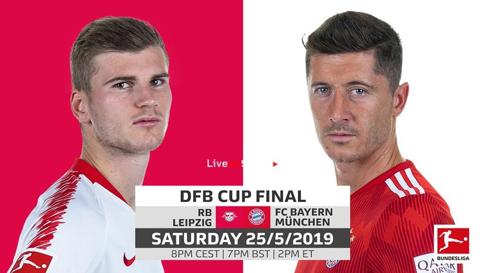 RB Leipzig ,Bayern Munich, Full Match, DFB Pokal Final 2019