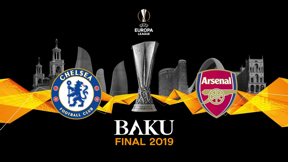 baku, chelsea, football, soccer, champions league, arsenal, europa league, final, maurizio sarri, unai emery,