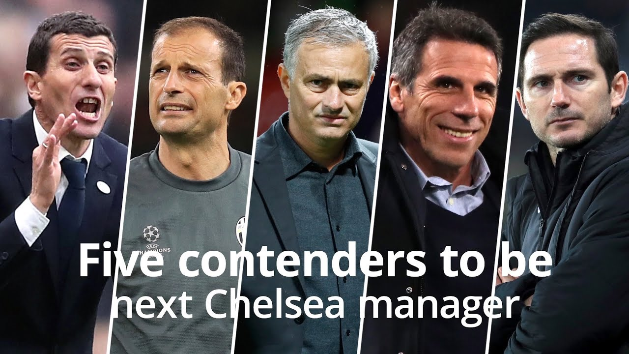 Five contenders for the Chelsea job