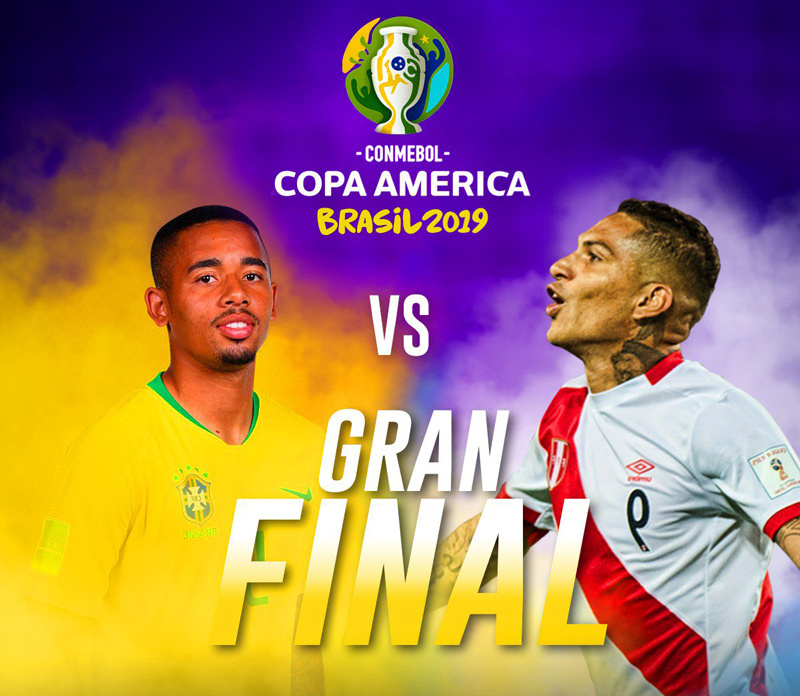 Brazil vs Peru Full Match - Copa America 2019 Final | 7 July 2019 1