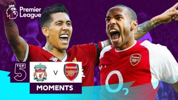 Liverpool v Arsenal – Top 5 Moments