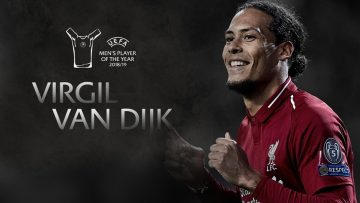 UEFA Men's Player of the Year 2018-19