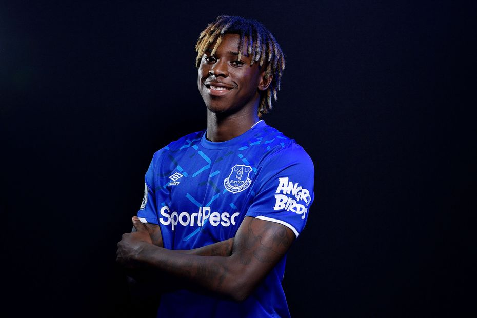 Moise Kean and Jean-Philippe Gbamin - Everton Press Conference 1