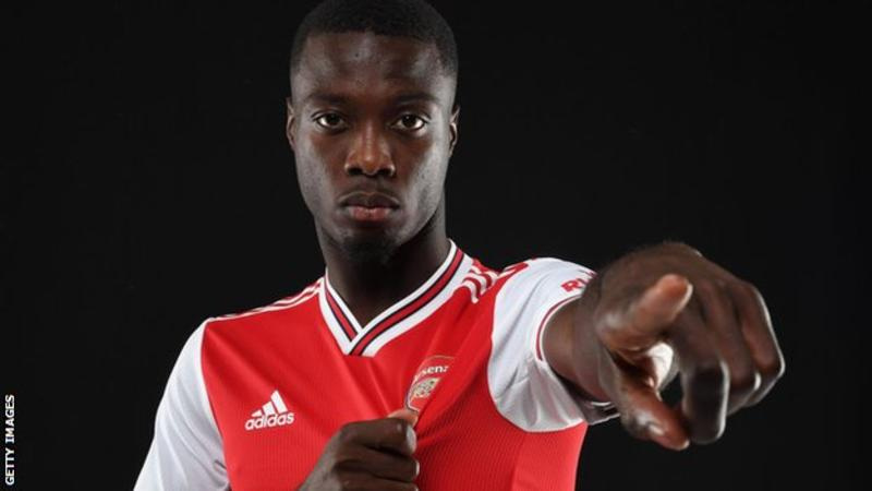 Nicolas Pepe: Arsenal sign Lille winger for club record fee 1