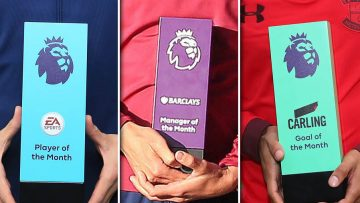 premier league awards