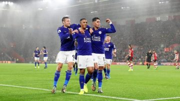 Biggest-Ever Premier League Away Win Southampton v Leicester City