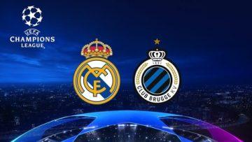 Real Madrid , Club Brugge, Full Match , UEFA Champions League, ucl