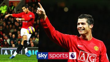 Ronaldo's best Man Utd PL goals
