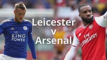 Leicester City v Arsenal Full Match Premier League