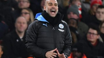 Watch Manchester City manager Pep Guardiola