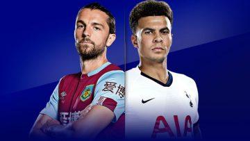 Burnley , Tottenham Hotspur ,Full Match , Premier League, epl