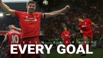 Every Steven Gerrard Goal for Liverpool