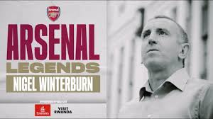 Arsenal Legends Nigel Winterburn