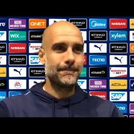 Man City , Pep Guardiola ,Post Match Press Conference , Premier League