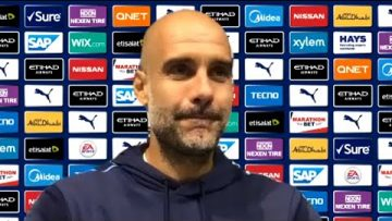 Man City , Pep Guardiola ,Post Match Press Conference , Premier League