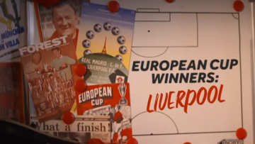 European Cup Winners Liverpool