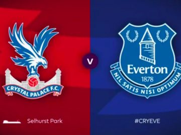 Crystal Palace , Everton, Full Match, Premier League, epl