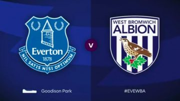 Everton ,West Bromwich Albion ,Full Match , Premier League , james rodriguez