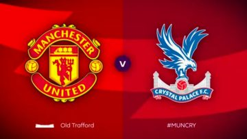 Manchester United, Crystal Palace ,Full Match , Premier League , zaha