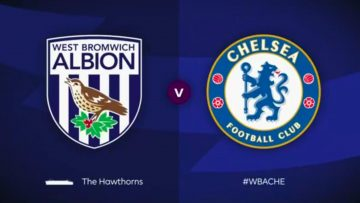 West Bromwich Albion , Chelsea, Full Match, Premier League , wba