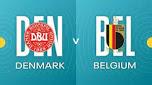 UEFA EURO 2020 Denmark v Belgium