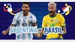 Copa America Final Argentina v Brazil