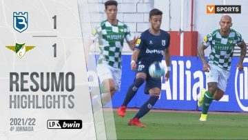 Highlights | Resumo: Belenenses SAD 1-1 Moreirense (Liga 21/22 #4)