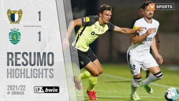 Highlights | Resumo: Famalicão 1-1 Sporting (Liga 21/22 #4)