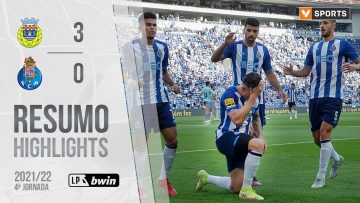Highlights | Resumo: FC Porto 3-0 FC Arouca (Liga 21/22 #4)
