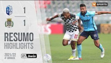 Highlights | Resumo: FC Vizela 1-1 Boavista (Liga 21/22 #4)