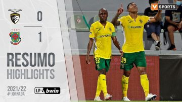 Highlights | Resumo: Portimonense 0-1 Paços de Ferreira (Liga 21/22 #4)